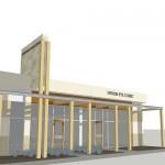 Proposed Building Facade